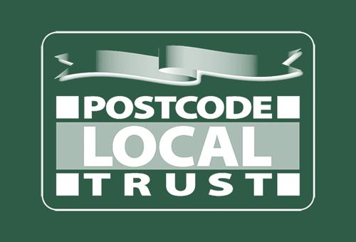 Postcode Local Trust Logo